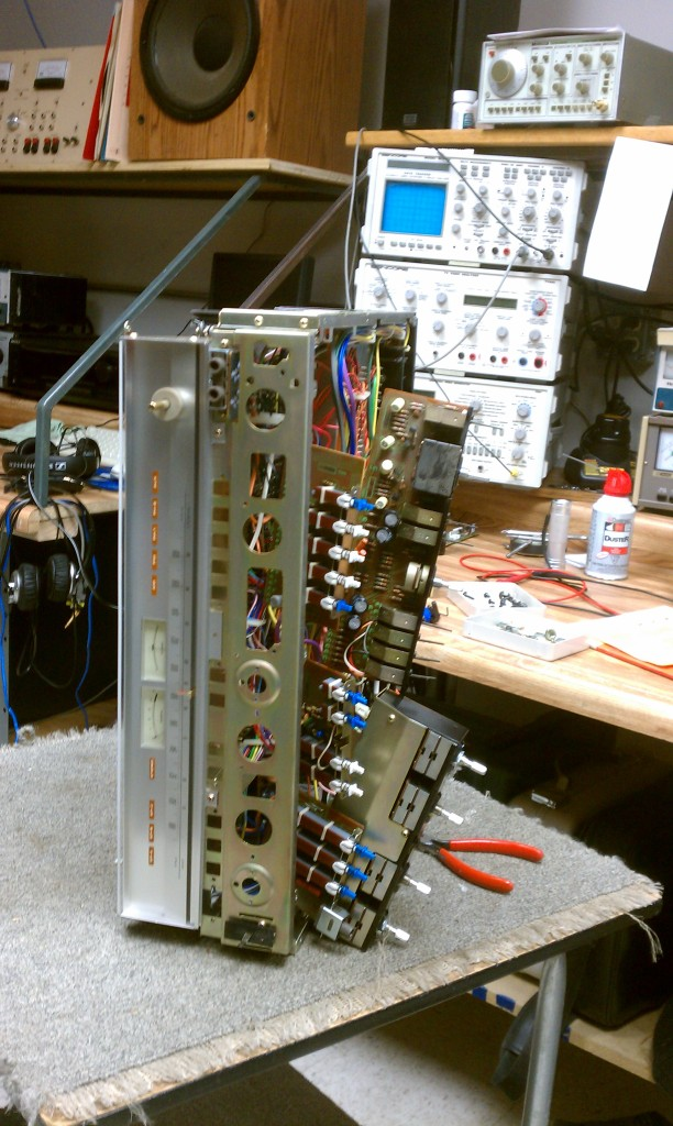 Cleaning Vintage Stereo Receivers | Alex Audio Video and