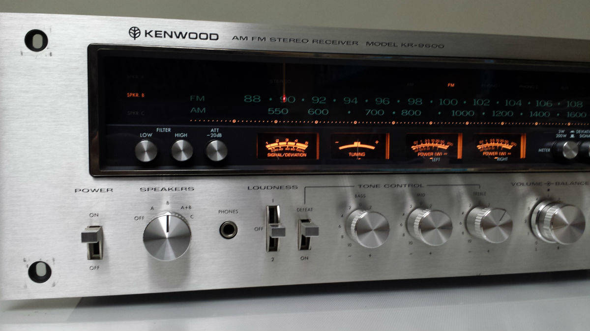 Kenwood Stereo Receiver Repair | Alex Audio Video and